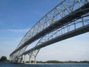 Blue Water Bridge in Port Huron